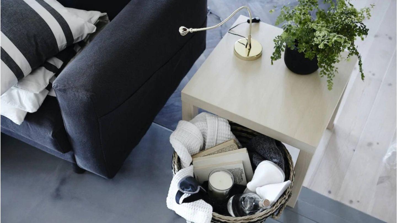 Consigue un salón siempre ordenado con estos muebles de Ikea. (Cortesía)