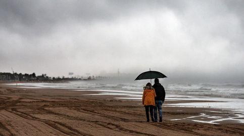 El temporal deja lluvias de hasta 100,6 l m2 y vientos de casi 84 km h en la comunitat valenciana
