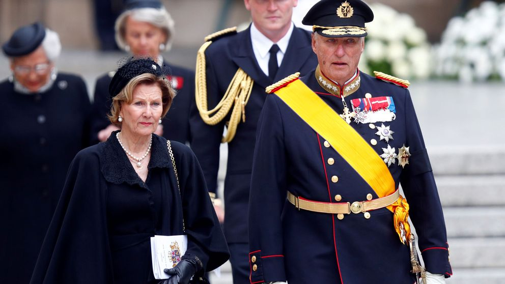 La familia real noruega no levanta cabeza: el rey Harald, de nuevo hospitalizado