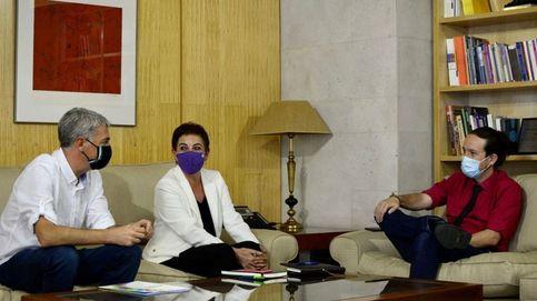 Iglesias refuerza con Bildu el bloque para la nueva dirección de Estado y orilla a Cs