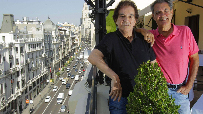 Manuel Calva y Ramón Arcusa, el Dúo Dinámico, en una entrevista. (EFE)