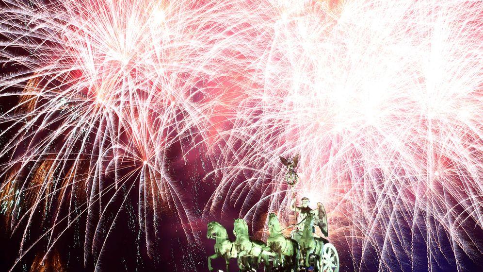 Foto: Celebración de la Nocevieja en Berlín. (Reuters)