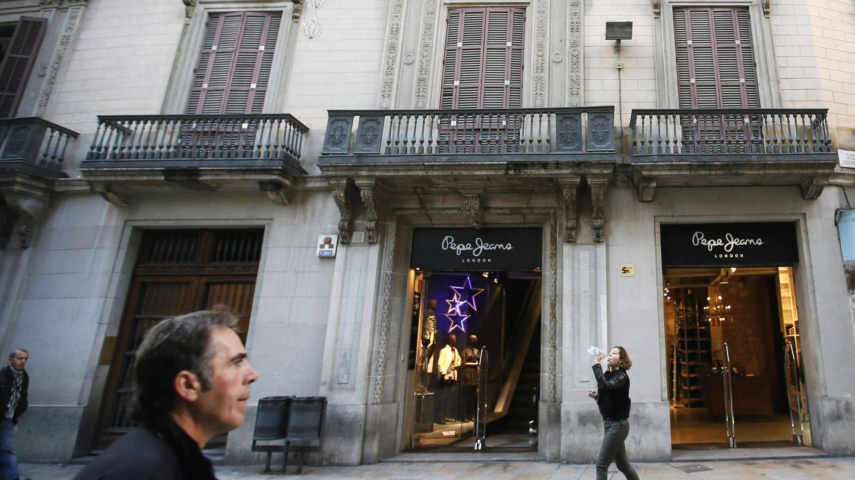 Tienda de Pepe Jeans en Barcelona. (Reuters)