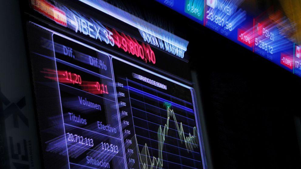 El Ibex pierde otro 7,8% al cierre, pero salva 'in extremis' los mínimos de 2012