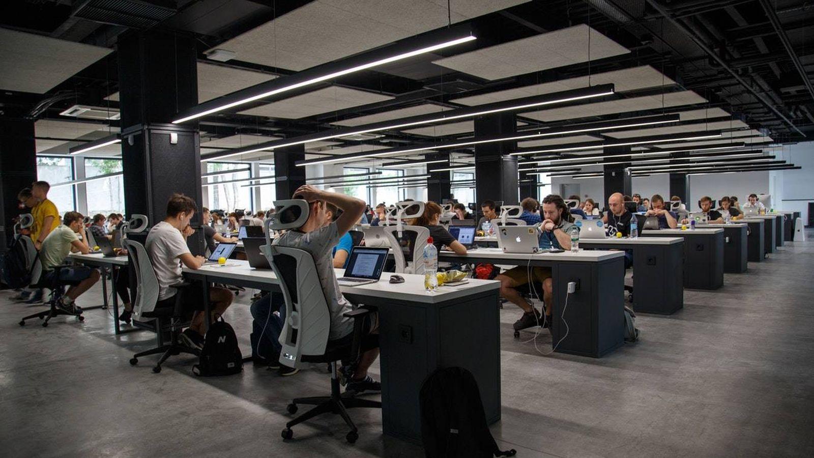 Foto: Competición de programadores. (Unsplash)