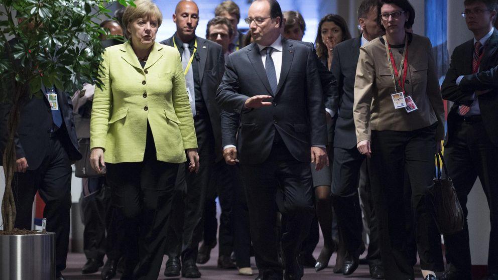 Hollande y Merkel piden una Cumbre Europea Extraordinaria para el martes