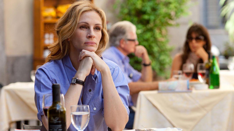 Foto: La actriz Julia Roberts, en una imagen de 'Come, reza, ama'
