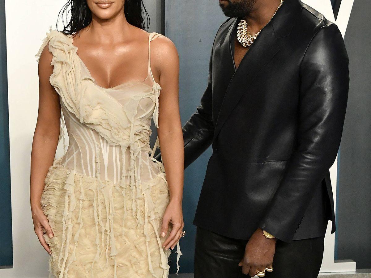 Foto:  Kim Kardashian y Kanye West, en crisis. (Getty)