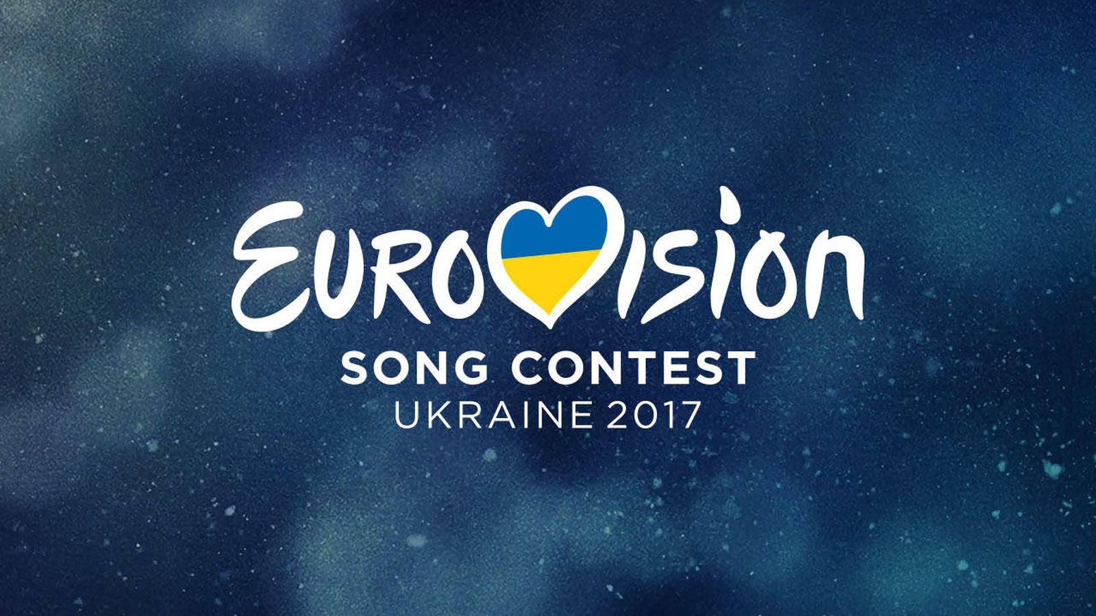 Foto: Logotipo de la edición de este año de Eurovisión 2017, que se celebrará en Kiev