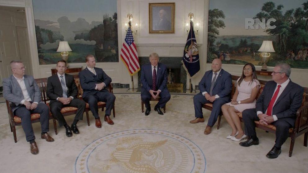 Trump tilda de locura la idea de Biden de paralizar EEUU de nuevo si hay un rebrote
