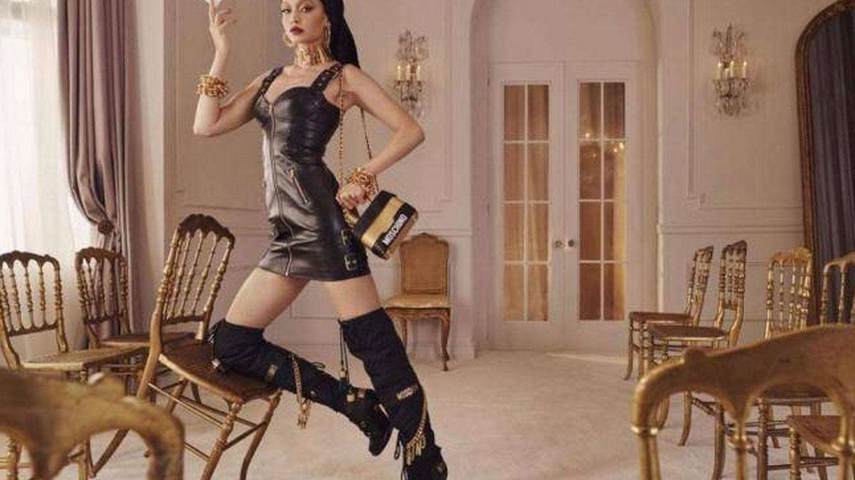 Gigi Hadid para Moschino x H&M.