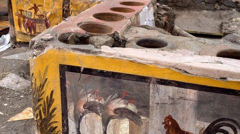 Descubren en Pompeya un restaurante fast food intacto