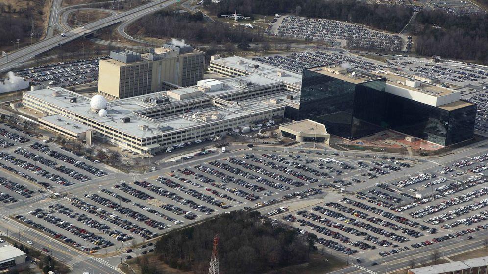 Foto: Vista aérea de la Agencia Nacional de Seguridad de Estados Unidos, en Maryland. (Reuters)