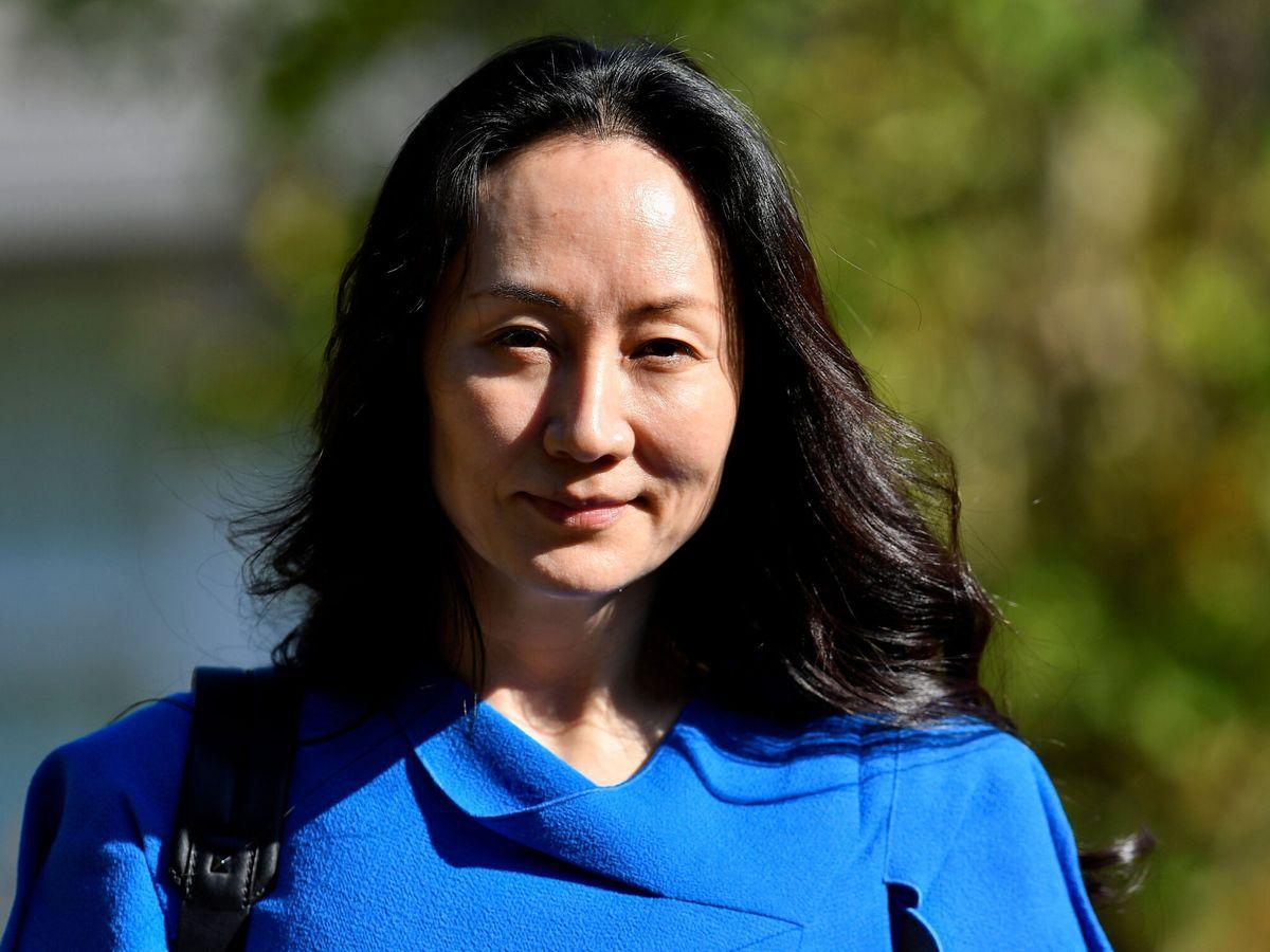 Foto: La directora financiera de Huawei, Meng Wanzhou. (Reuters)