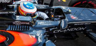 Post de Fernando Alonso y su 'nuevo' McLaren-Honda: