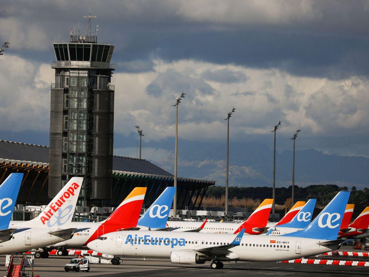 Foto: Aviones de Iberia y Air Europa (Reuters)