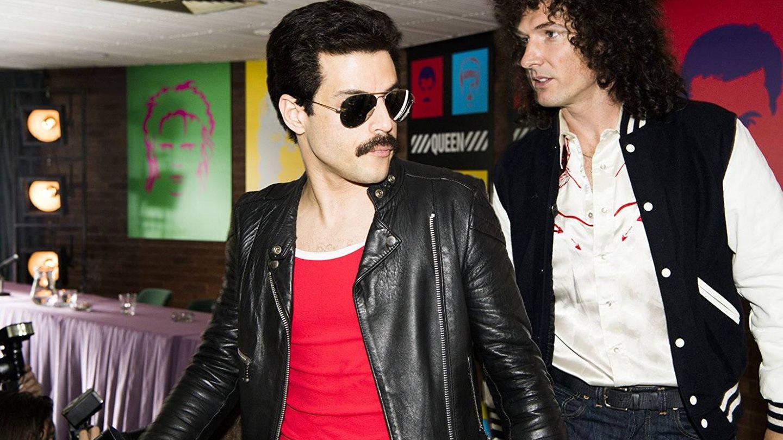 Rami Malek y Gwilym Lee, en 'Bohemian Rhapsody'. (Fox)