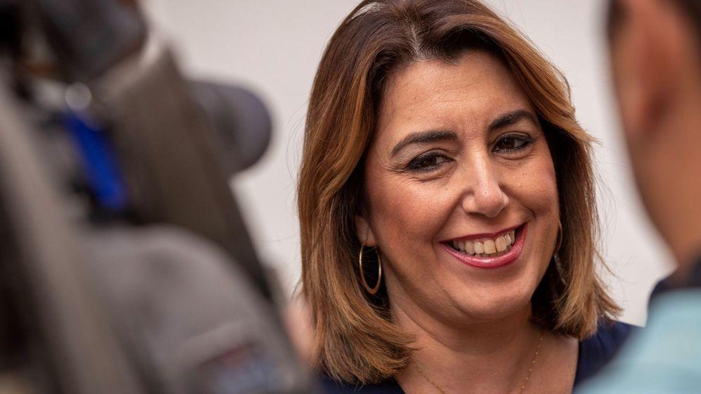 Foto: La presidenta del grupo parlamentario socialista en Andalucía, Susana Díaz. (EFE)