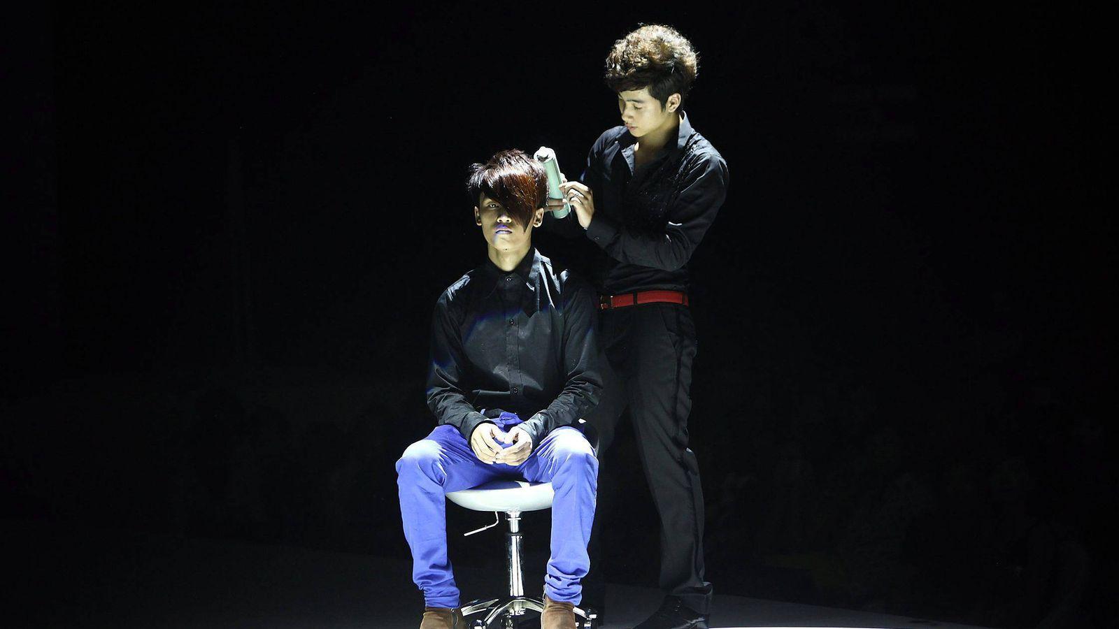 Foto: ¿Cuánto cuesta un corte de pelo en Vietnam? (Efe/Luong Thai Linh)