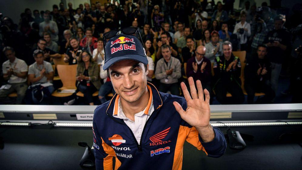 Foto: Dani Pedrosa anunció este jueves su retirada en el Circuito de Sachsenring. (EFE)