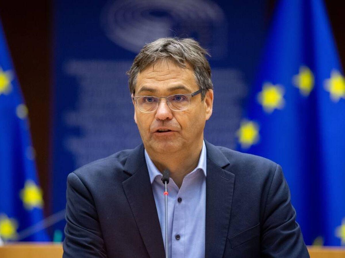 Foto: El eurodiputado del Partido Popular Europeo, Peter Liese (Parlamento Europeo)