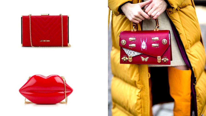 Los bolsos de fiesta rojo admiten cualquier concesión. (Imaxtree)
