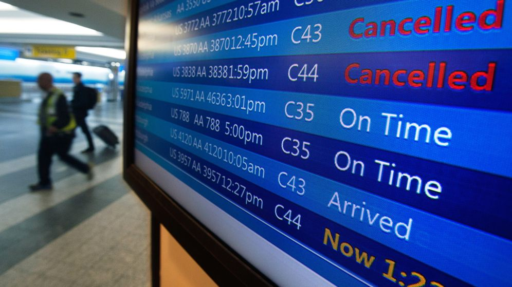 Foto: Todos los días se retrasan miles de vuelos. (Reuters)
