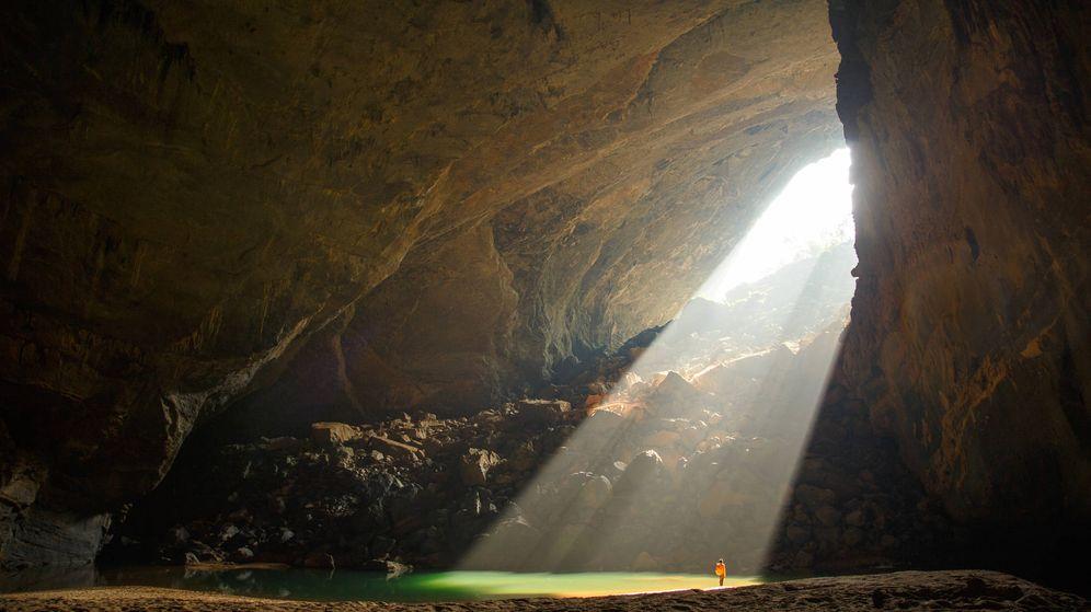 Foto: La impresionante entrada de la gruta de Son Doong. (Reuters)