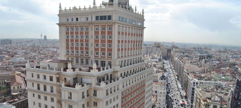 Foto: Edificio España. Foto: Elena Sanz.
