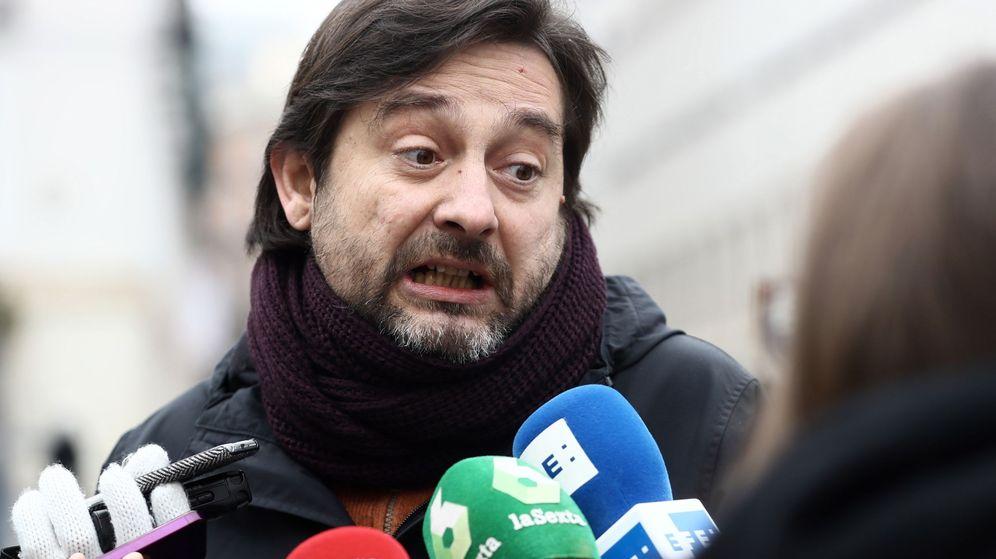Foto: El secretario de Sociedad Civil y Movimiento Popular de Podemos, Rafa Mayoral. (EFE)