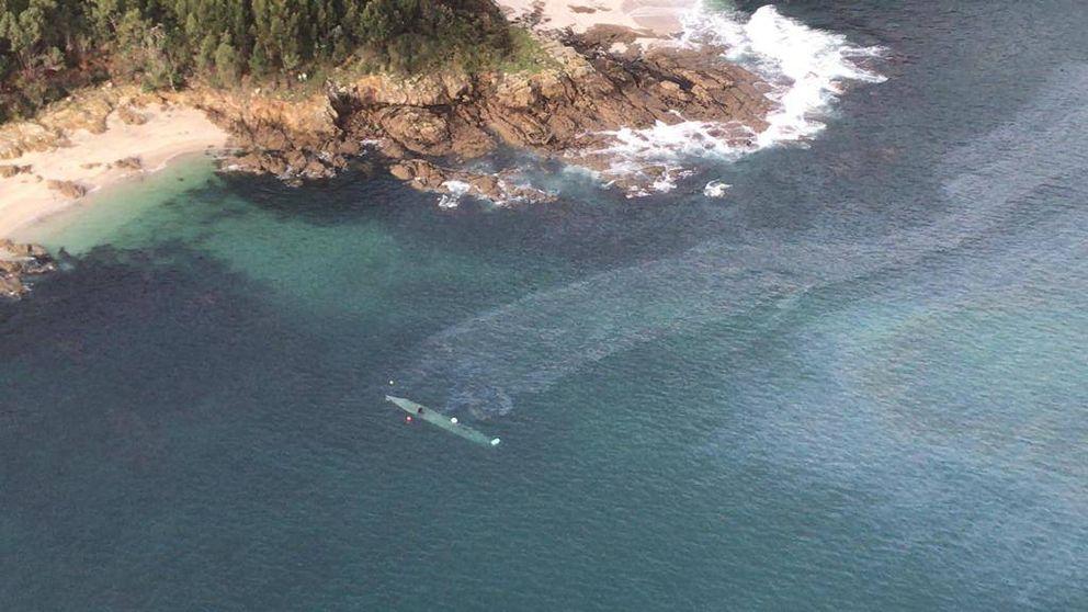 No es el primer narcosubmarino que llega. Al final, tocará un abordaje en alta mar