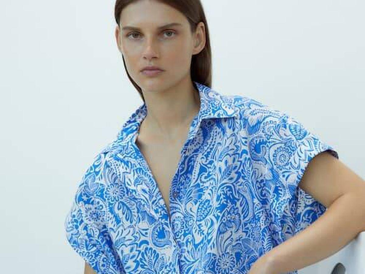 Foto: Ficha en las rebajas esta camisa de Massimo Dutti y otras 5 propuestas ideales. (Cortesía)