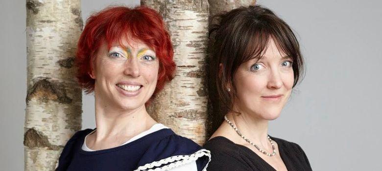 Foto: Ella Berthoud y Susan Elderkin, autoras de 'The Novel Cure'. (Facebook)