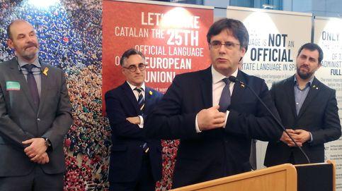 Puigdemont vuelve a la Eurocámara tras el veto de Tajani