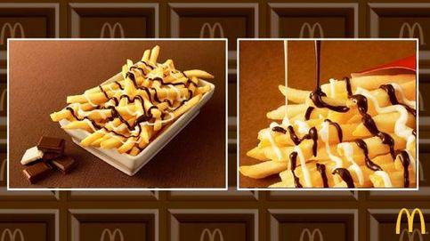 Patatas fritas con chocolate: McDonald's tienta los paladares con su nueva receta