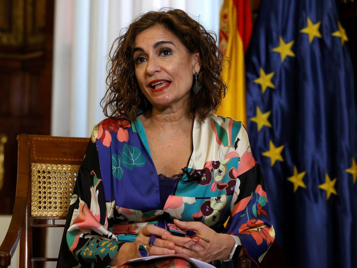 Foto:  La ministra de Hacienda y Función Pública, María Jesús Montero (EFE)