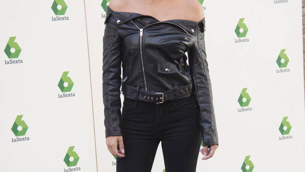 Copia el look motero de Cristina Pedroche para tus salidas nocturnas