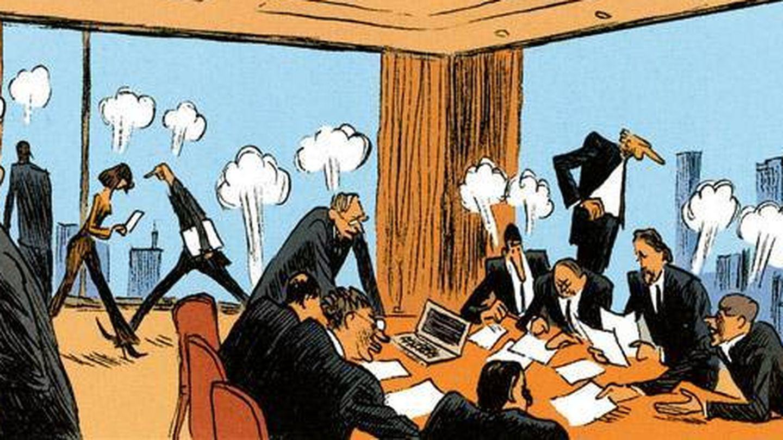 Viñeta del cómic original