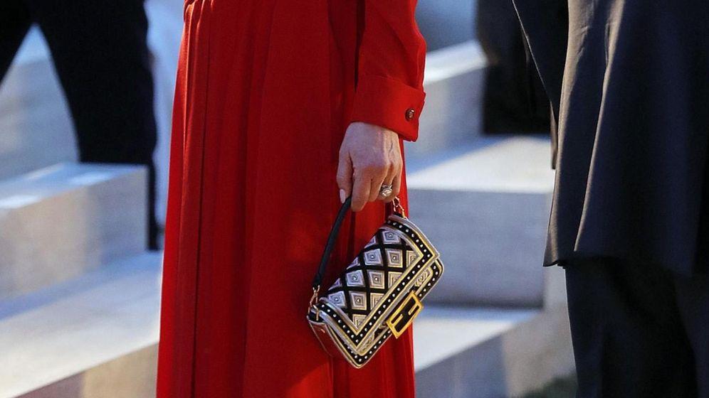 Foto: Catherine Zeta-Jones en el homenaje que Fendi le rindió a Karl Lagerfeld. (EFE)
