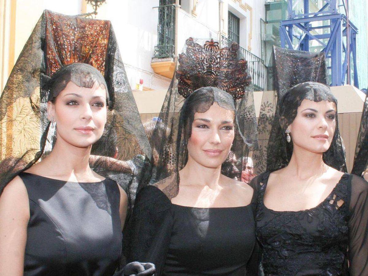 Foto: Eva González, Raquel Revuelta y María José Suárez. (Redes)