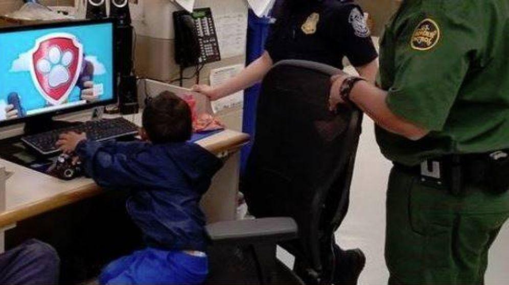 Foto: El menor de 3 años ha sido encontrado por la Guardia Fronteriza