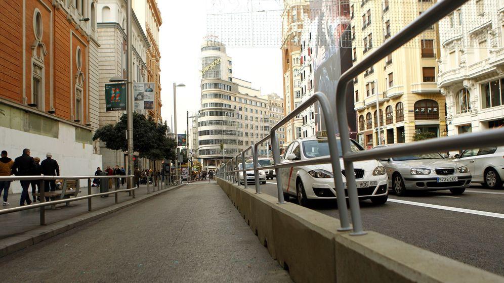 Foto: La gran via de madrid con su nuevo cierre por navidad