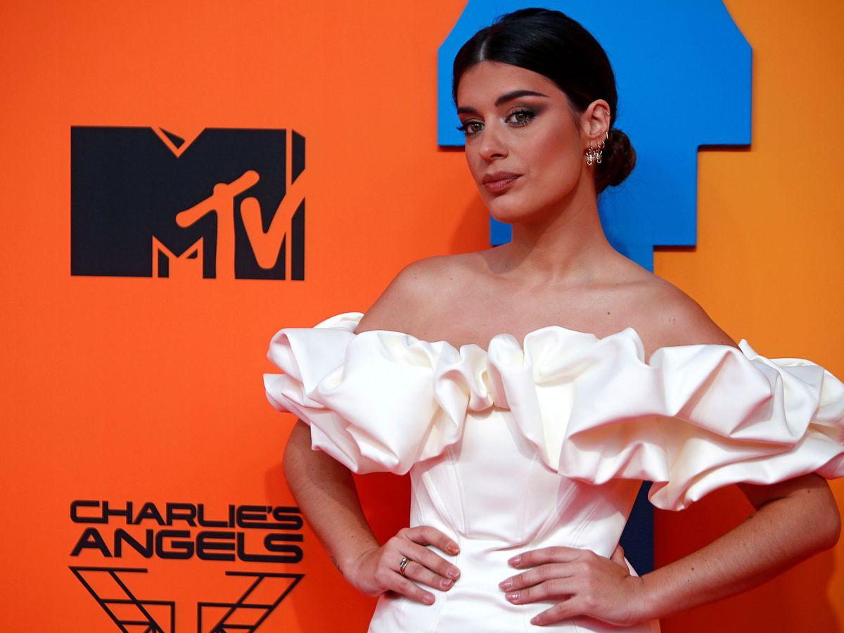 Foto: Dulceida, durante los premios MTV Europe del pasado noviembre. (Reuters)