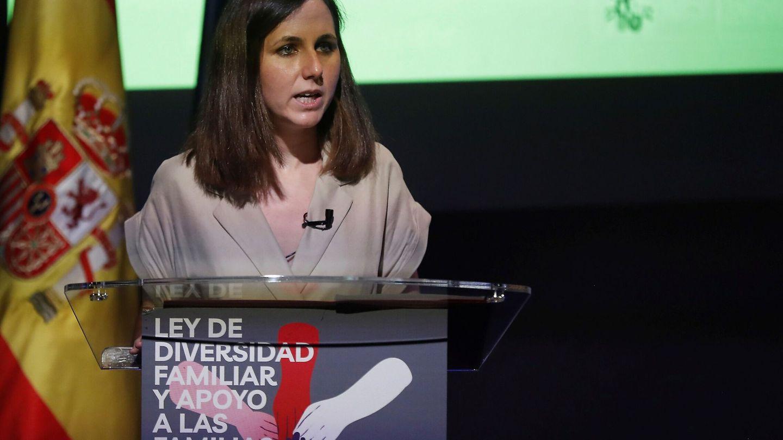 La ministra de Derechos Sociales, Ione Belarra. (EFE)