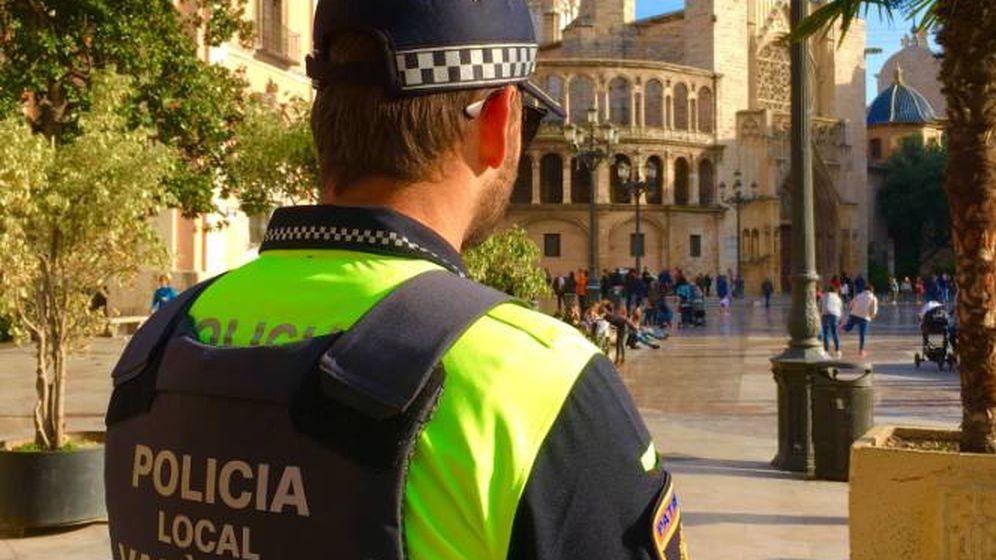 Foto: Agente de la Policía Local de Valencia (Policía de Valencia)