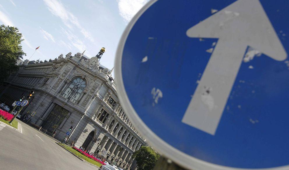 Sede del Banco de España en la Plaza de Cibeles. (EFE)