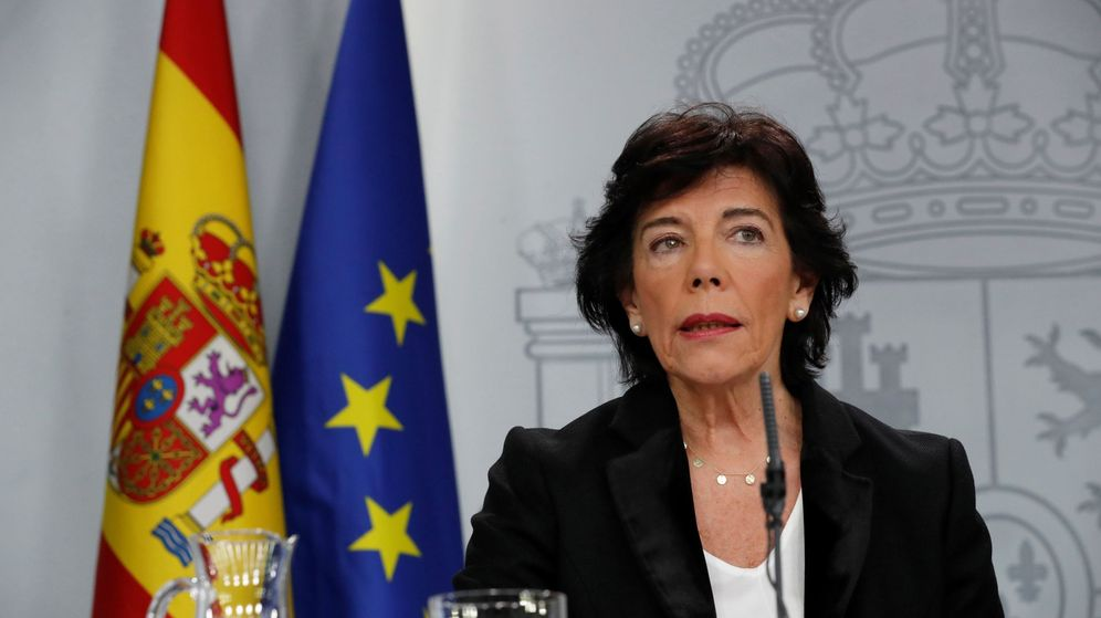 Foto: La portavoz del Gobierno en funciones, Isabel Celáa. (EFE)