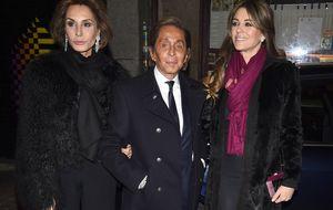 Valentino y su 'troupe' reciben clases de sevillanas en Madrid