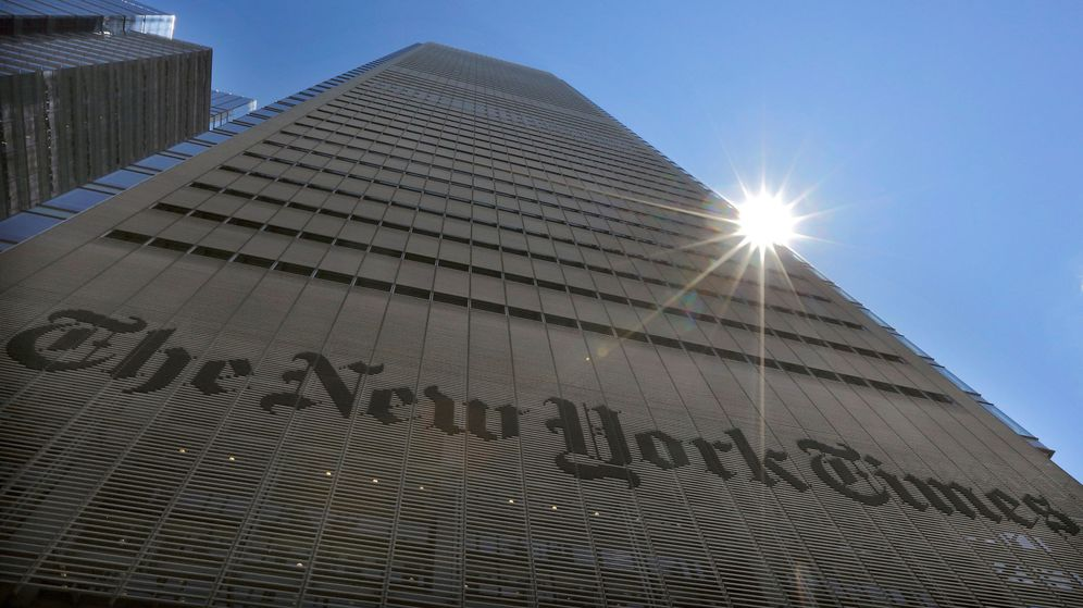 Foto: Sede del diario 'The New York Times' en la capital neoyorkina. (Reuters)