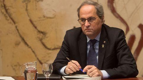 Torra amaga con la Constitución catalana para torpedear las negociaciones de ERC
